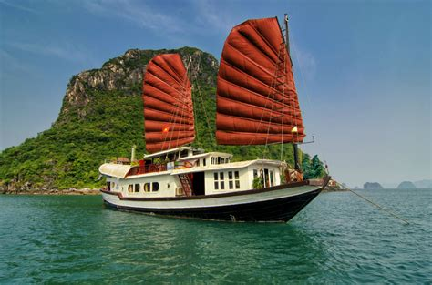 dinner on a boat bay area hanoi halong bay overnight on cruise talent tourism
