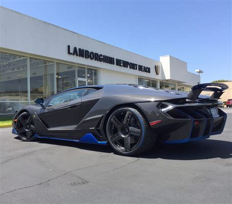 first lamborghini ever first lamborghini centenario arrives in the united states