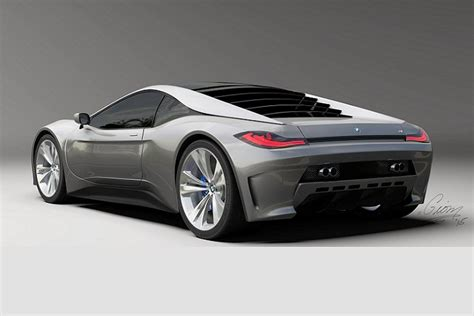 bmw supercar m1 we really bmw sees this m1 supercar rendering