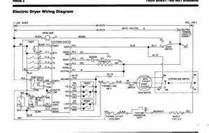 Electric Clothes Dryer Wiring Kenmore Elite Dryer Wiring Diagram Heater Get Free Image