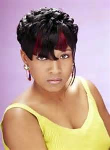 black american hair style on a circle to school pixie hairstyle for african american women with cropped