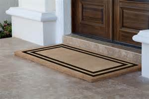 Entry Door Mats For Doors Amazing Door Mat Homesfeed
