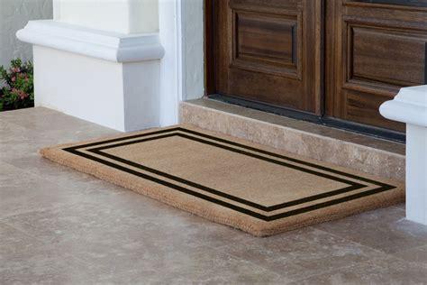 amazing double door mat homesfeed