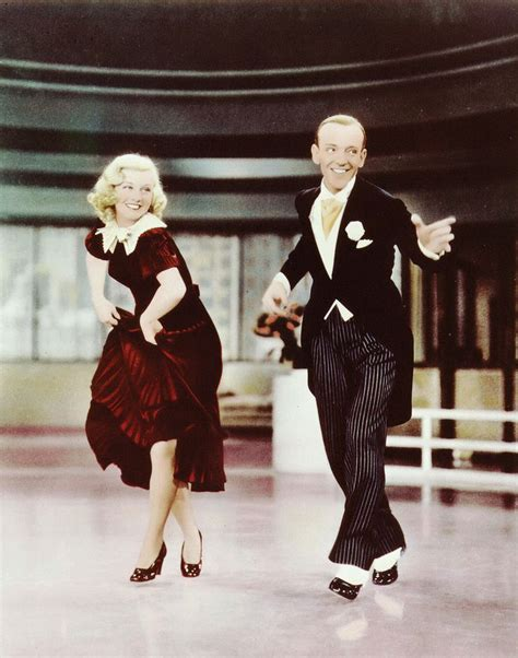 swing tap dance fred and ginger in color fred astaire and ginger rogers