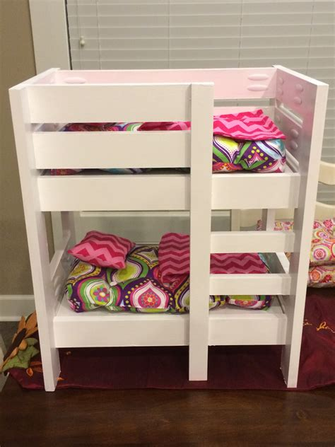 american doll beds ana white american girl doll bunk beds diy projects