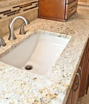 granite bathroom countertops with sink undermount sinks in granite countertops