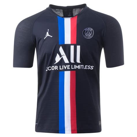 psg  authentic fourth jersey  nike