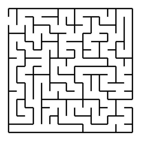 free maze puzzle coloring pages