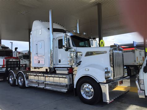 brand new kenworth brand new kw t909 at the local kenworth dealership b