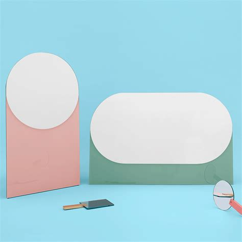 shapes mirror by hay in the shop amazing mirrors elle decoration uk