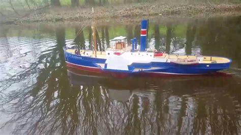 rc boats glasgow rc glasgow paddle steamer youtube
