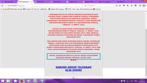 sk inpassing dikdas 2016 bidang pptk dikbud kab boyolali