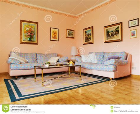 Pitture Per Saloni by Salone Classico Immagini Stock Immagine 5260644