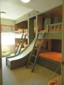 Kid Bunk Bed With Slide Bunk Beds With Slide Just For