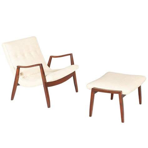 milo baughman chair thayer coggin milo baughman scoop lounge chair with ottoman for thayer