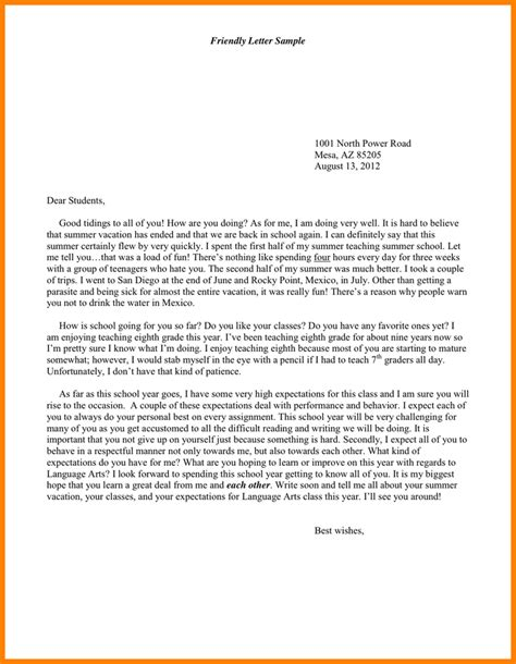 friendly letter template friendly letter pictures to pin on pinsdaddy