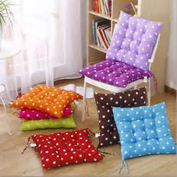 tie on dotty chunky seat pad chair cushion pads for dining room garden kitchen