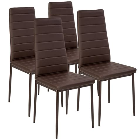 modern dining chairs dining room chair table faux leather