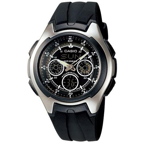 Casio Aq 163w 1b1v zegarek casio aq 163w 1b1v wr100m illuminator wawa