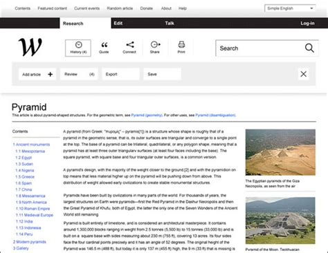 pattern layout wikipedia a showcase of creative redesign concepts web design ledger