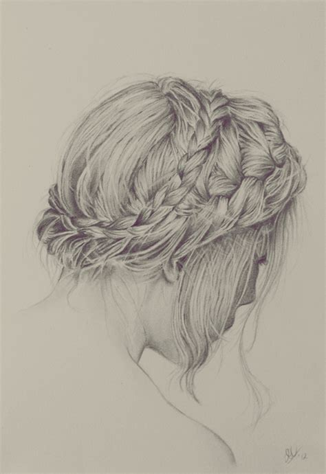 realistic plait hair styles drawn braided hair pictures to pin on pinterest pinsdaddy