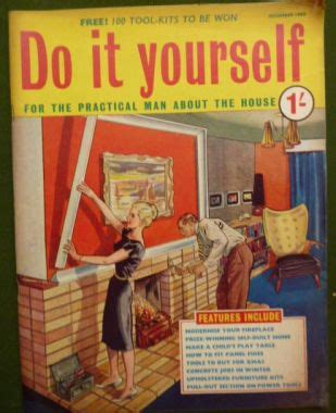 do it yourself magazine priory antiques do it yourself magazine dec 1960