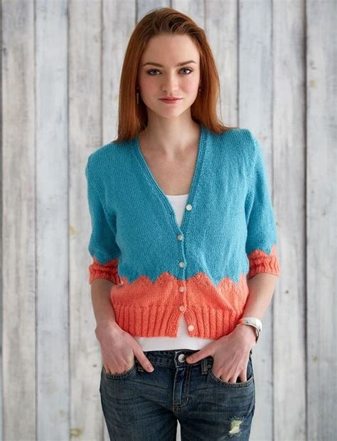 knitting cardigan patterns for beginners walk in the park cardi allfreeknitting