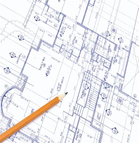 draft a blueprint of your home kitchen blueprints house furniture
