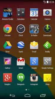 android home getting to the android kitkat home screen greenbot