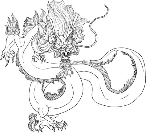 chinese dragon coloring pages easy free printable chinese dragon coloring pages for kids