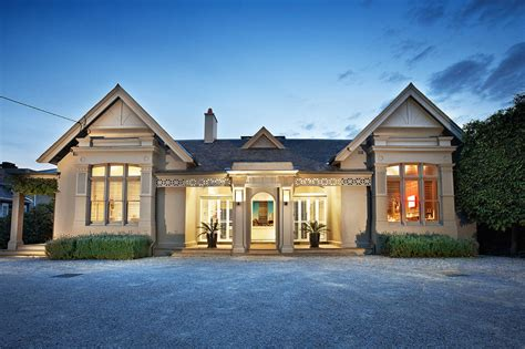 modern traditional homes victorian style facade hides super modern architecture