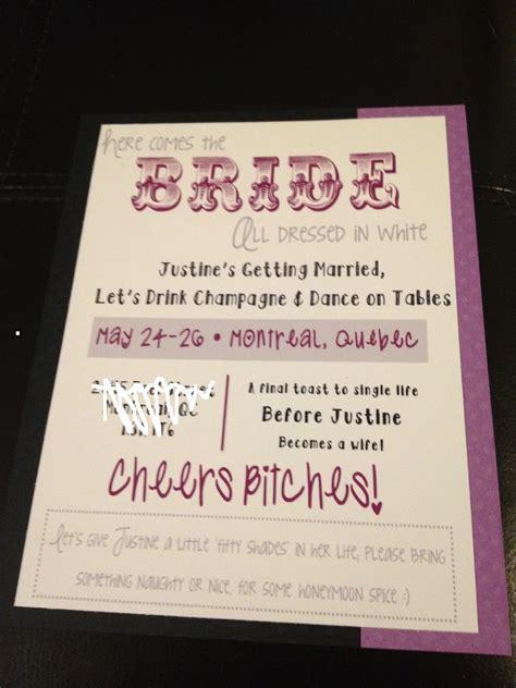 bachelorette invitation templates bachelorette invitations templates free images