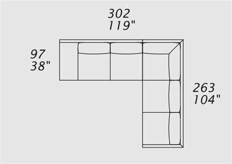 misure divano ad angolo border divano in pelle ad angolo italy design