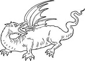 dragones feroces para colorear imagui