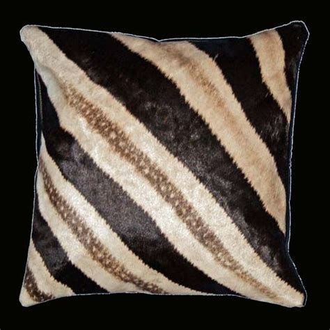 2 zebra skin pillows want 4 house zebras