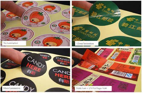 sticker printing paper types custom cut labels reviews online shopping custom cut