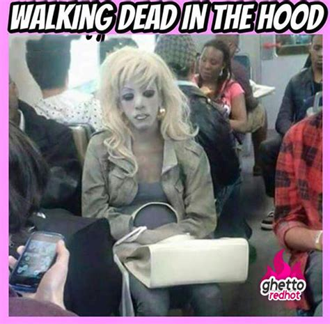 Funny Ghetto Memes - walkingdead meme archives ghetto red hot