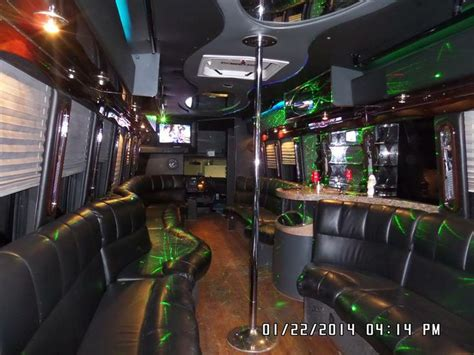 party bus prom 7 best party buses with stripper poles images on pinterest