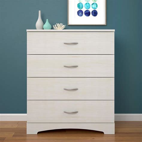 ameriwood crescent point 4 drawer ivory dresser 5977330com