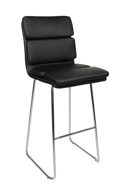 Fixed Height Kitchen Bar Stools by Moderno Fixed Height Bar Stools Black Kitchen Bar Stools