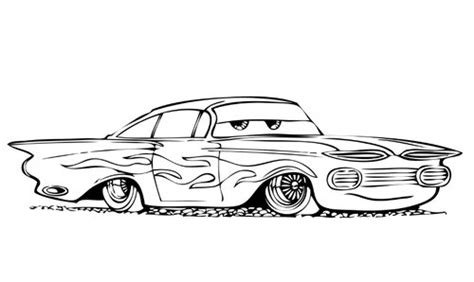 free coloring pages cartoon cars coloring pages for kids