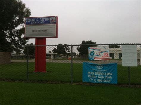 Vons Garden Grove Ca Number Patton Elementary School Elementary Schools 6861 Santa
