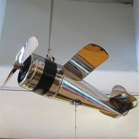art deco ceiling fan art deco airplane ceiling fan at 1stdibs