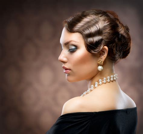 Vintage Hair Updo by Vintage Hairstyles For An Look Cosmetic Ideas