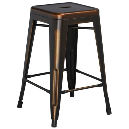 white backless barstool 24 inch overstock com shopping tolix style industrial distressed indoor outdoor counter