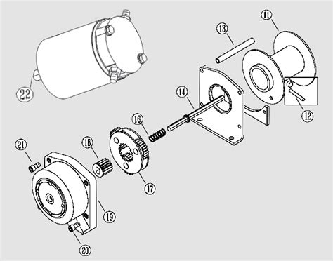 yamaha winch wiring diagram winch tractor wiring diagram