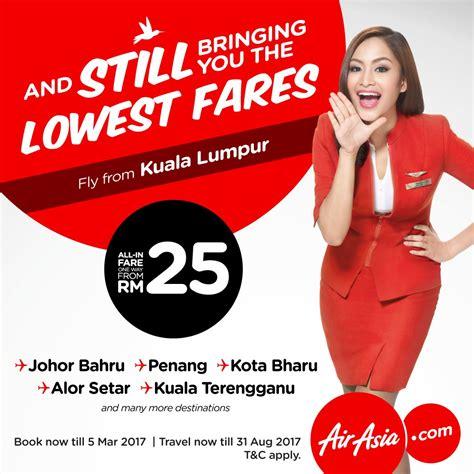 airasia promo airasia lowest fares promotion loopme malaysia