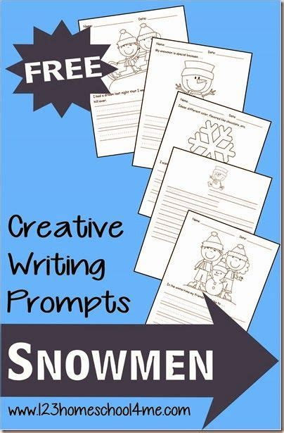 theme in literature prompt winter creative writing prompts with a snowmen theme