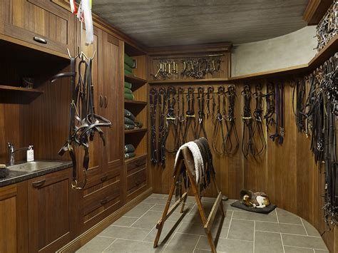Saddle Room by Tackroom For The Professional Sebo Interior Equipage