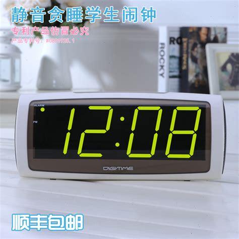 bedroom digital clock shipping large led digital electronic clock fashion